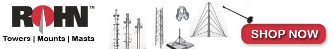 ROHN 25G Towers For Sale - Cable & Wire Shop is an authorized distributor of Rohn Products