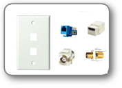 wall plates and jacks