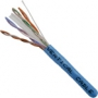 CAT6 23-AWG/ 4-pair CMR Rated UTP LAN Cable Blue
