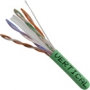 Bulk Category 6 Cable CMR Rated UTP 1000 FT Green