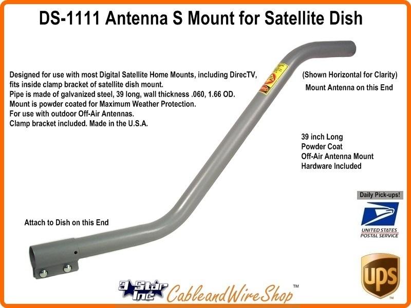 Winegard Ds 1111 Satellite Dish Antenna S Mount