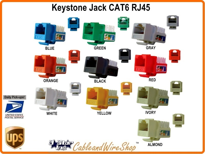 keystone jack cat6 insert rj45 module u white 302 j2628 wh. Black Bedroom Furniture Sets. Home Design Ideas