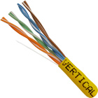 Cat5e Ethernet Cable UTP CMR Riser 1000 FT Yellow