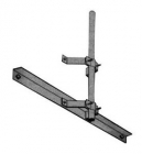 Rohn GEM4060 Galvanized Eave Mount Antenna Mast Bracket