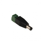 RET1045 DC Power Plug with Screw Terminals - Male (10 pack)