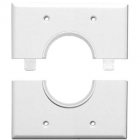 SKY05066 Skywalker Signature Series Split Dual Gang Wall Plate with 1.5 inch hole