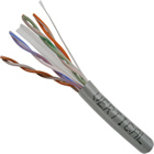 CAT6 23-AWG/ 4-pair CMR Rated UTP LAN Cable Gray
