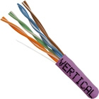 1000 FT Cat5e Network Cable Solid CMR Riser in Blue