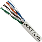 1000 FT White Stranded CAT5e Riser Rated Network Cable