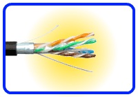 CAT5E Direct Burial Cable