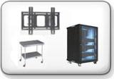 Server Racks, Cabinets and Utility Carts