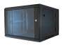 6U Empty Hinged Wall Mounted Equipment Cabinet Enclosure | DISCONTINUED