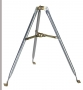 Heavy Duty Galvanized 3 Foot Satellite and HDTV Antenna Mast Tripod Roof Mount