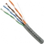 Cat5e Unshielded Riser Rated Network Cable 1000 FT Gray