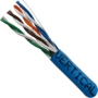 Blue 1000 FT Stranded CAT5e Ethernet Cable CMR UTP