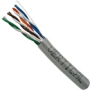 Cat5e Unshielded Stranded Riser Rated Network Cable 1000 FT Gray