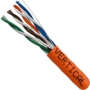 Cat5e Unshielded Stranded Riser Rated Network Cable 1000 FT Orange
