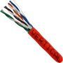 1000 FT Red Stranded CAT5e Ethernet Cable