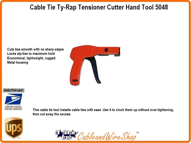 Ty Rap Cable Tie Tensioner Cutter Hand Tool Sky5048