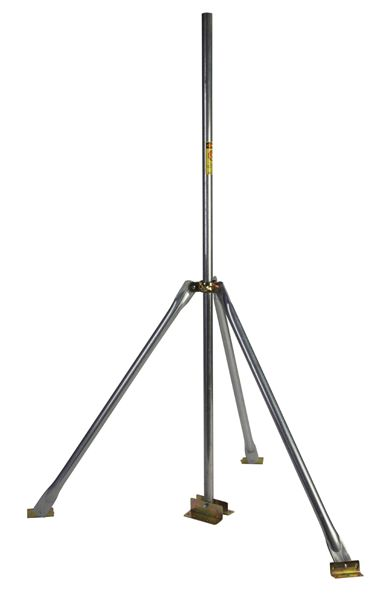 5 Ft Antenna Mast Pole With Tripod Roof Mount 1 25 Od Ez Tri 5