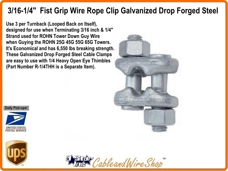 1 4 Wire Rope Cable Grip - WIRE Center •